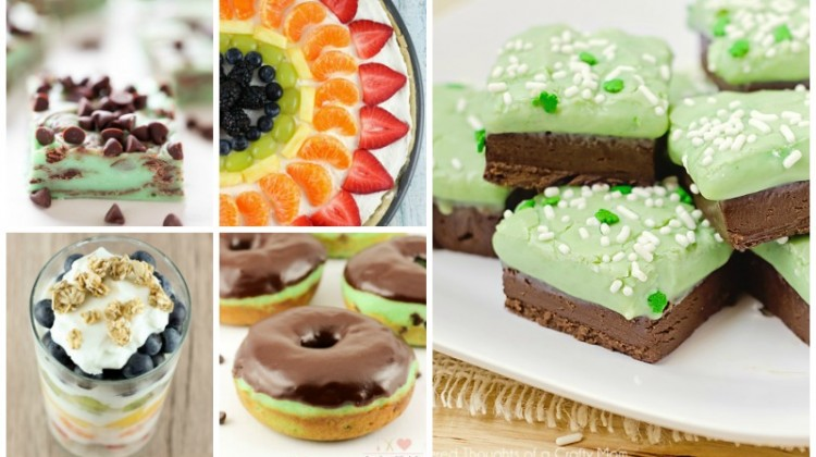 St. Patrick's Day Desserts & Treats Recipe Collection!