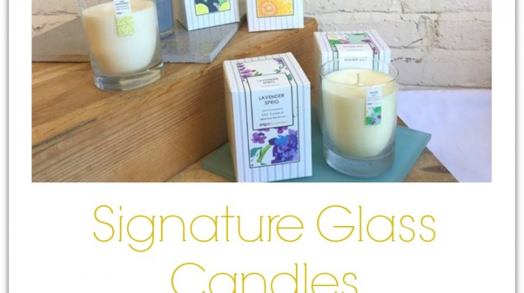Bright Endeavors Signature Glass Soy Candles #Giveaway Ends 2/15