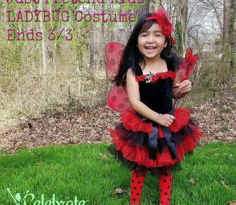#Win a Just Pretend LadyBug Costume US 3/3