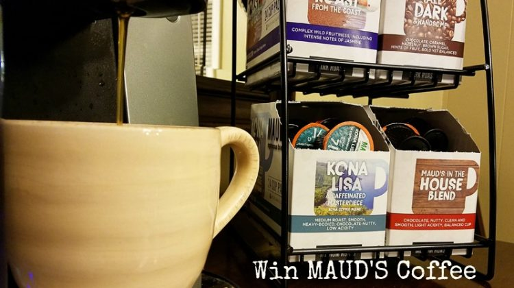 #Win 1-month Supply of Maud's Coffee! US ends 3/2