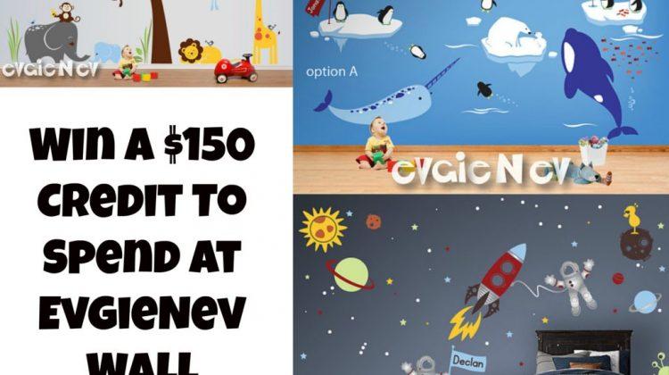 #Win $150 EvgieNev Wall Decals! Open WW, 3/10