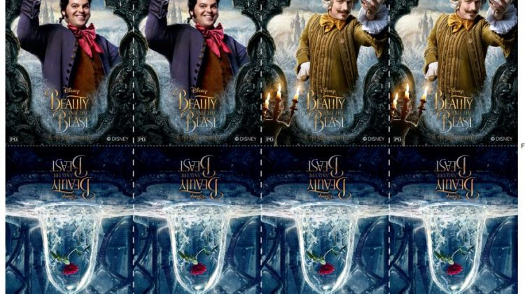 All-New Beauty & The Beast Printable – New Clip – In Theaters Now #BeOutGuest #BeautyandTheBeast