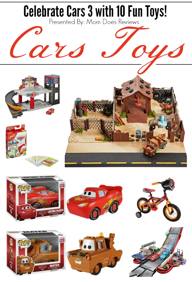 10 Disney Pixar Cars Toys to Celebrate Cars 3