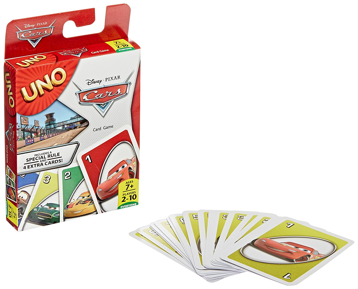 Disney Pixar Cars UNO Card Game