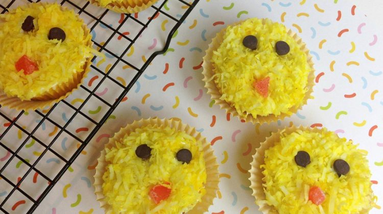 #12Daysof Easter Recipes and Crafts {Day 11} Easter Chick Cupcakes
