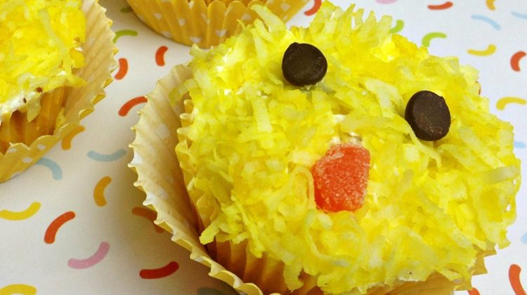 Easter Chicks Cupcakes are Sure to Bring a Smile!