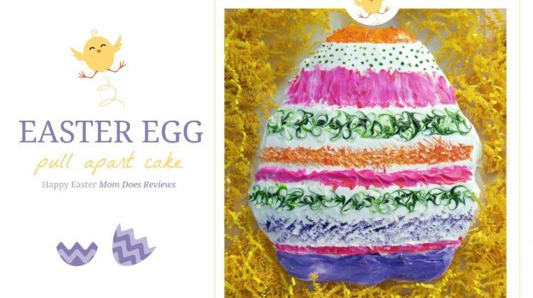 Easter Egg Pull Apart Cake Tutorial