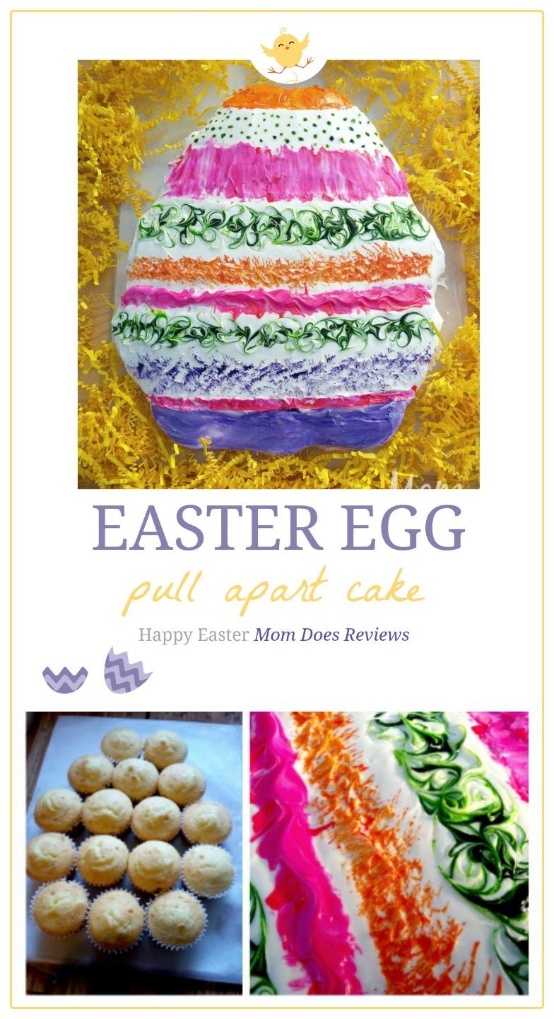 Easter Egg Pull Apart Cake