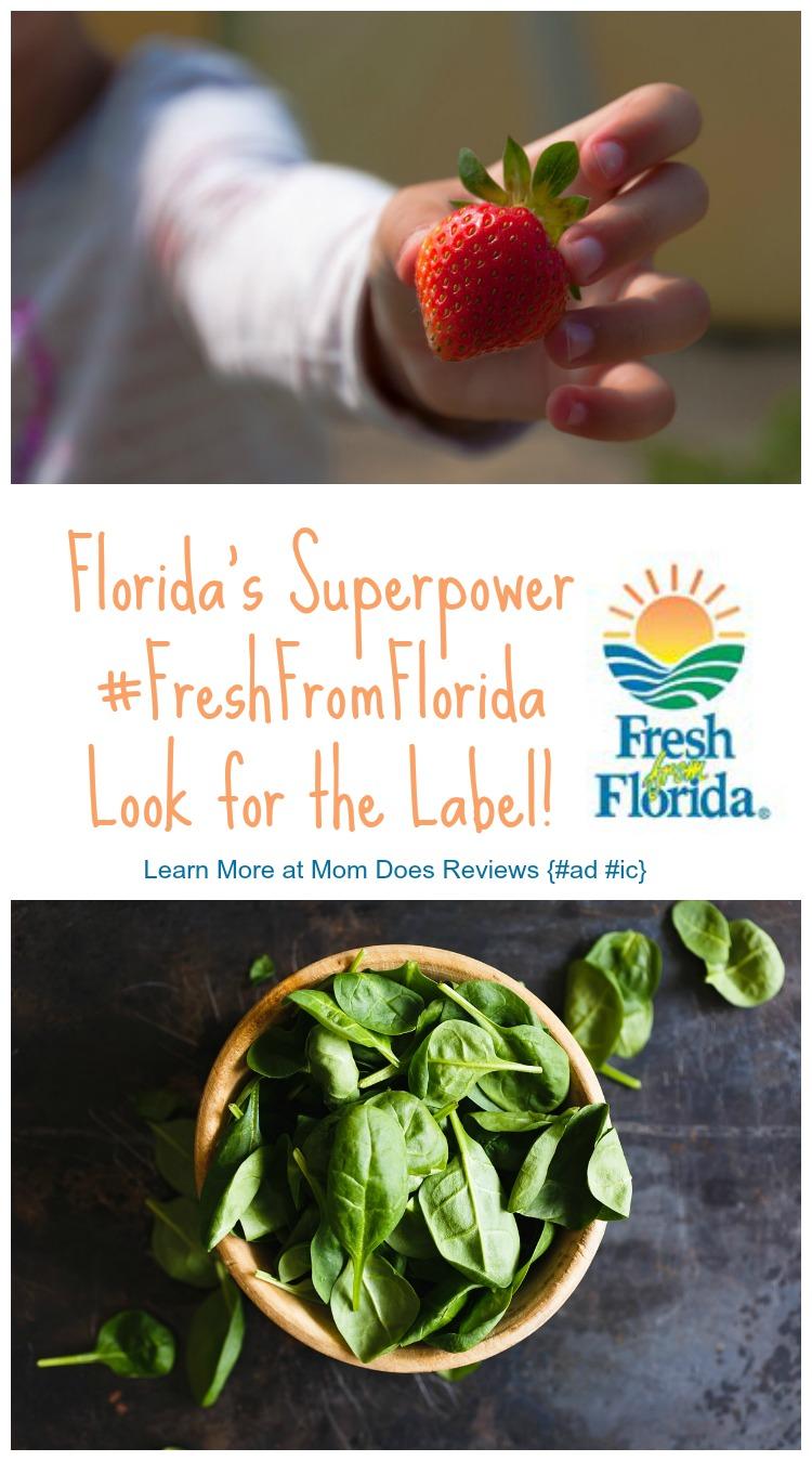 Florida's Superpower ~ #FreshFromFlorida
