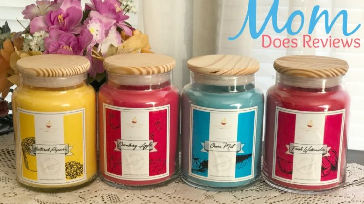 Sweet Scented Gifts for Mom from Madison Valley Candles #GiftsforMom17