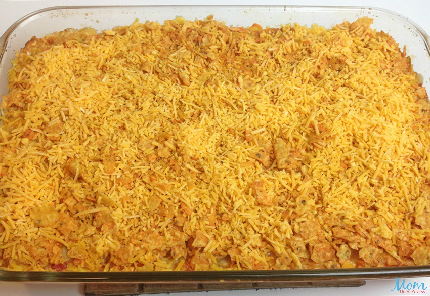 Mexican Chicken Casserole process