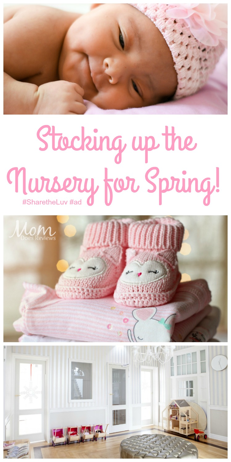 Stocking Up the Nursery for Spring with Luvs