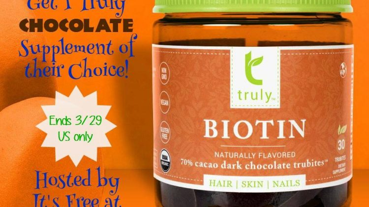 #Win 1 of 4 Truly Chocolate Supplements Trubites #TrulySupplements