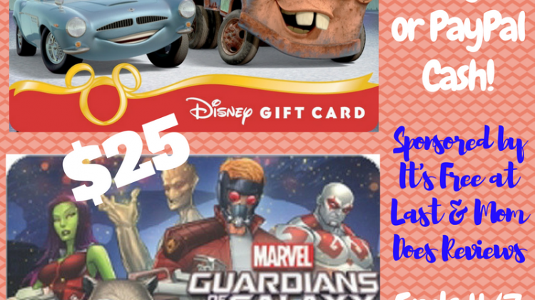 #Win $25 Disney GC or Paypal Cash #Cars3Event #GotGVol2Event