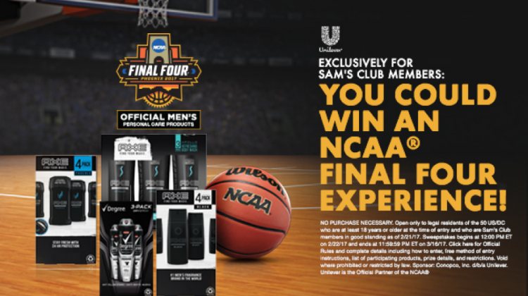 Enter to Win the NCAA Sweepstakes! #SamsClubHomeCourt #ad
