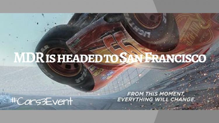 I'm Speeding to San Francisco for Disney, Pixar and ABC TV #Cars3Event