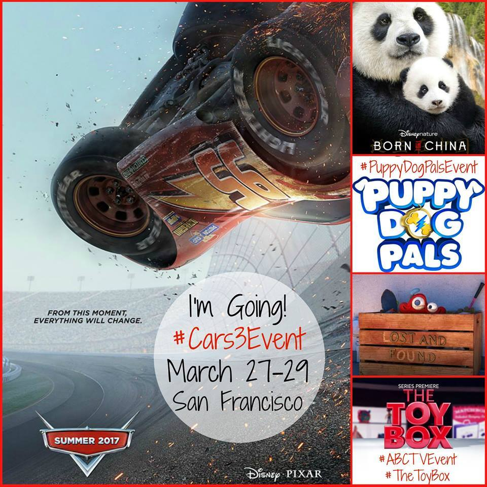I'm Speeding to San Francisco for Disney, Pixar and ABC TV