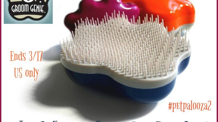 #Win 2 Groom Genie Pet Brushes! US ends 3/17 #Petpalooza2