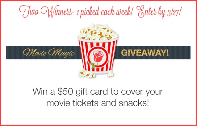 Movie Magic Giveaway - Win $50 GC to See Beauty and the Beast!