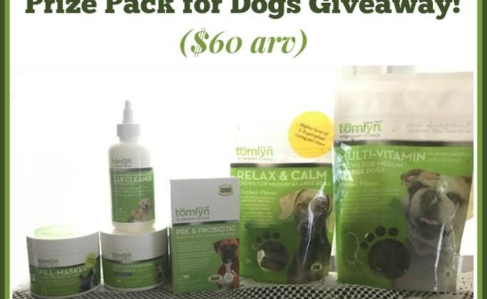 #Win Tomlyn Health & Wellness Prize Pack for Dogs #Petpalooza2