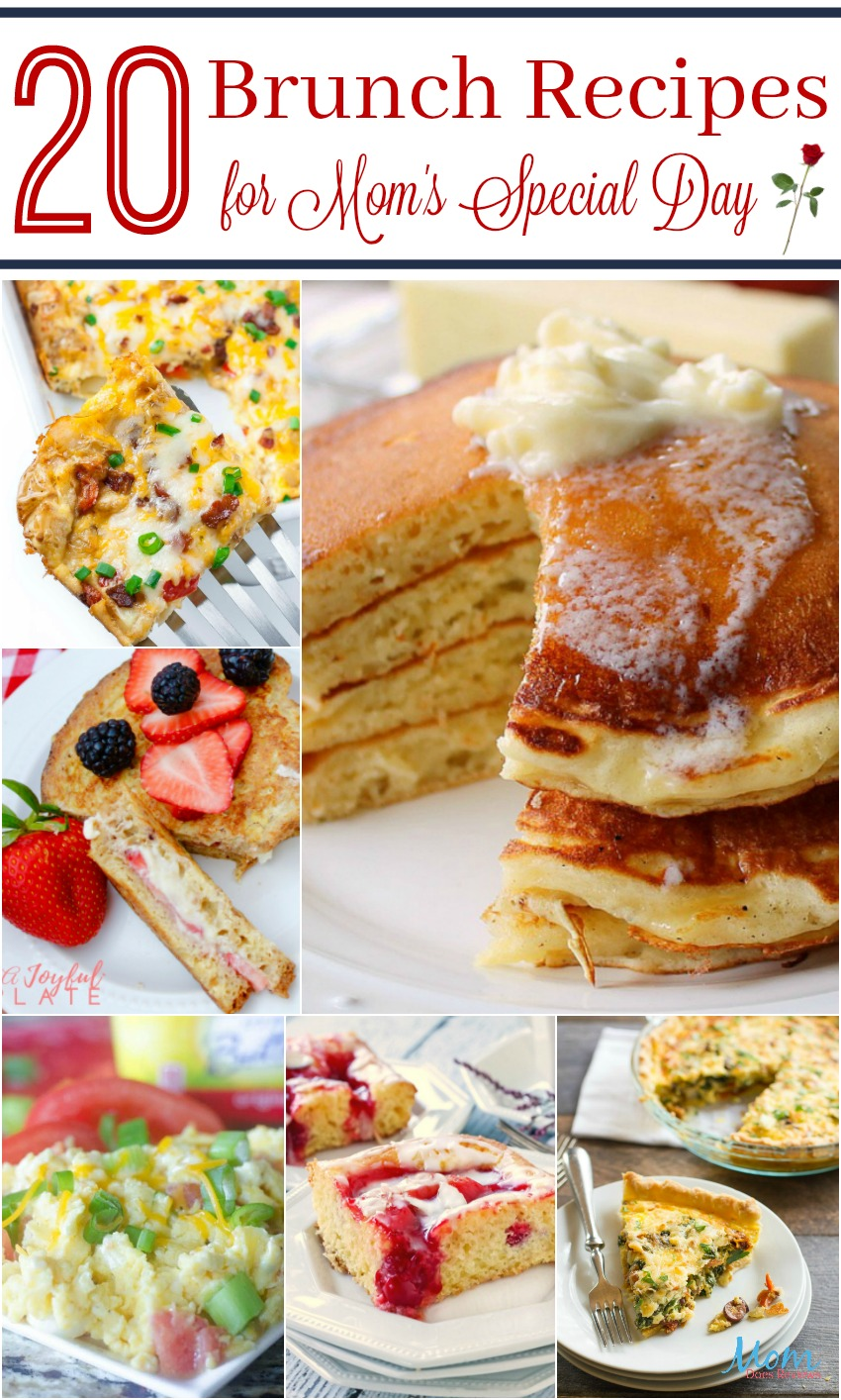 Brunch Recipes for Mother's Day