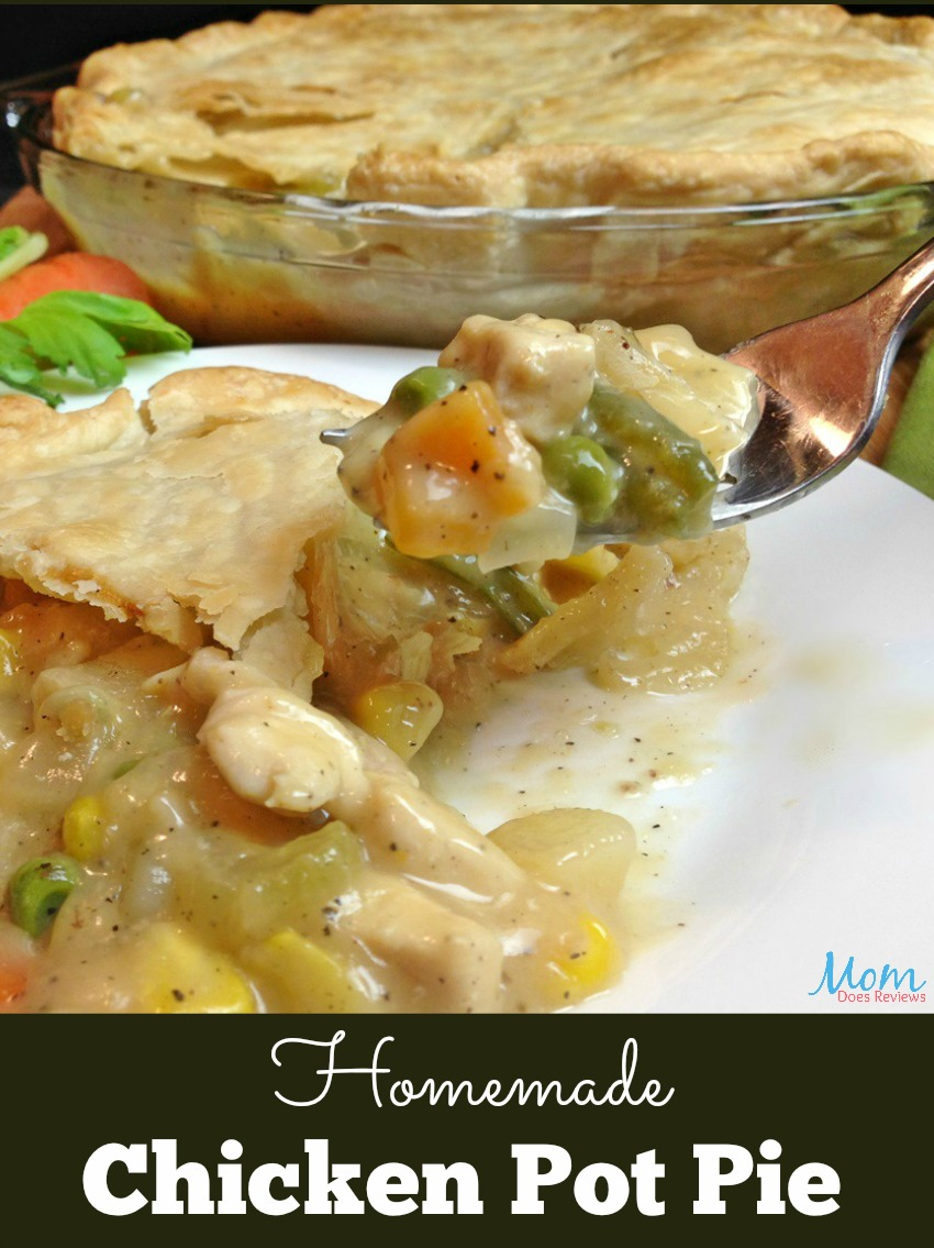Homemade Chicken Pot Pie