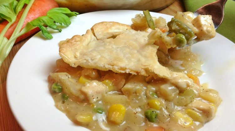 Homemade Chicken Pot Pie process