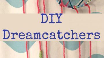 DIY Dream Catchers #crafts