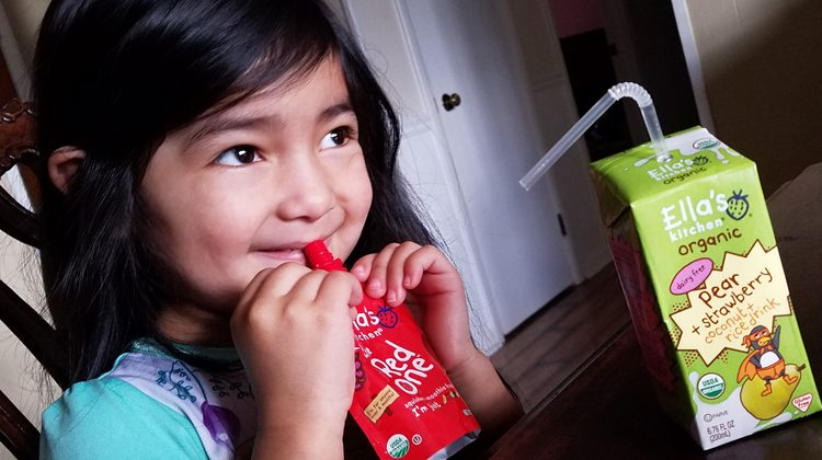 Healthy Snacks and Drinks by Ella's Kitchen #Review