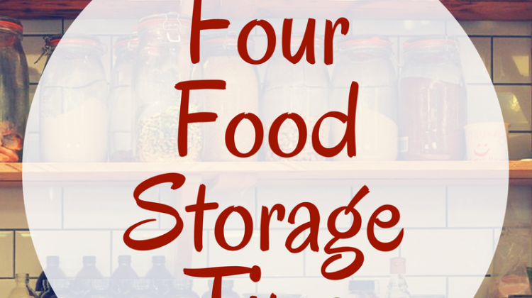 4 Tips for Simplified Food Storage