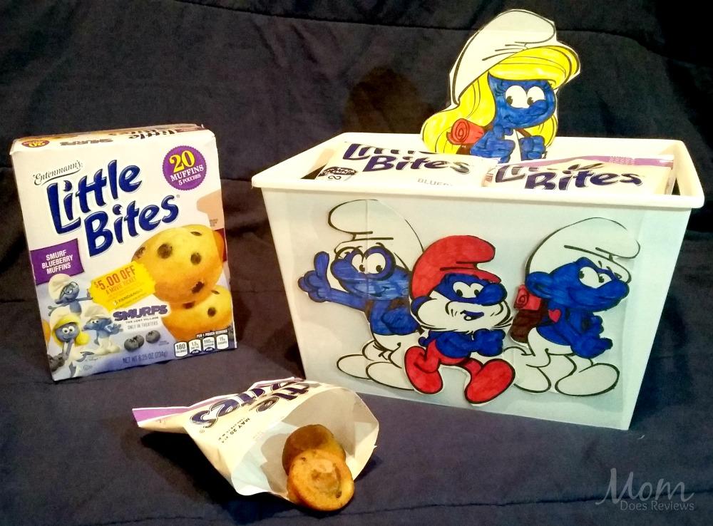 DIY Smurfs Snack BIn