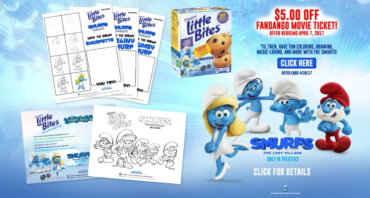 Entemann's Little Bites Smurfs Offer