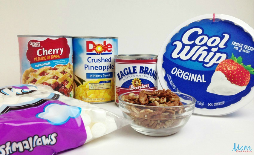 Pink Fluff Recipe ingredients