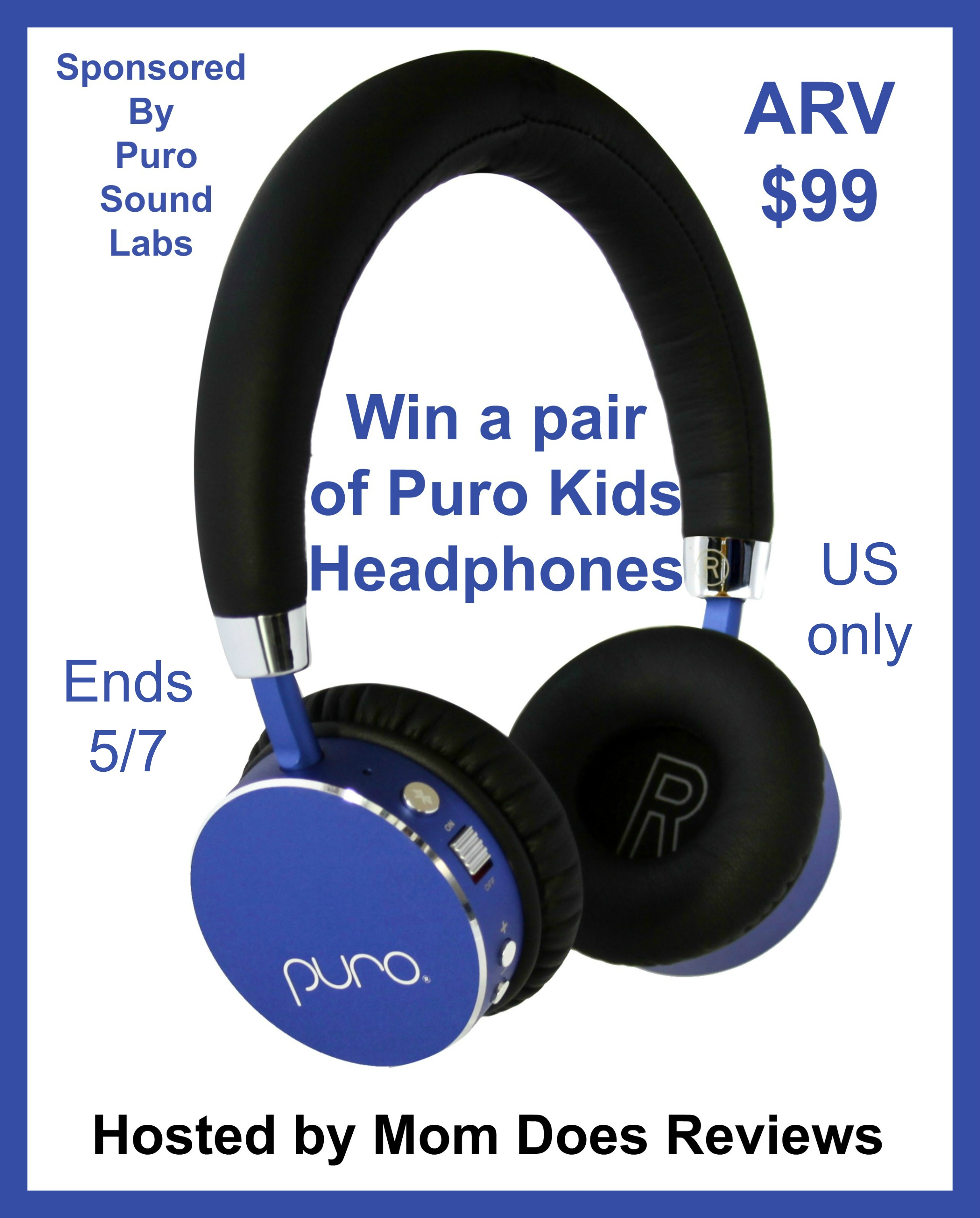 #Win Puro Kids Headphones US only ends 5/7