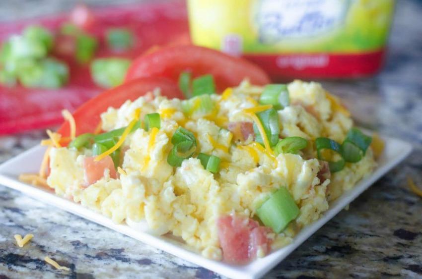 Santa Fe Scrambled Eggs Recipe