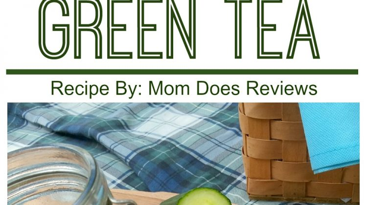 #12Daysof Picnic Ideas {Day 10} Sweet Cucumber Green Tea
