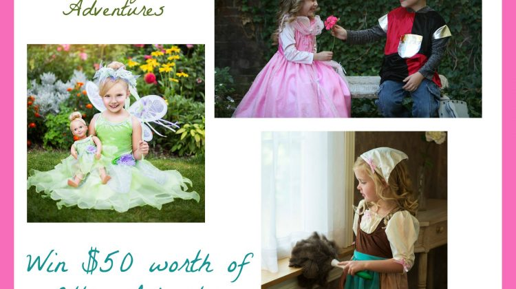 $Win $50 from Little Adventures Dress up Clothes ends 4/20