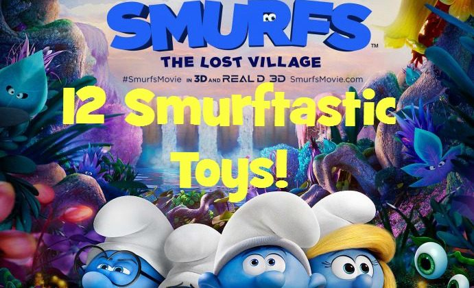 Twelve Smurftastic Toys Your Kids will LOVE!
