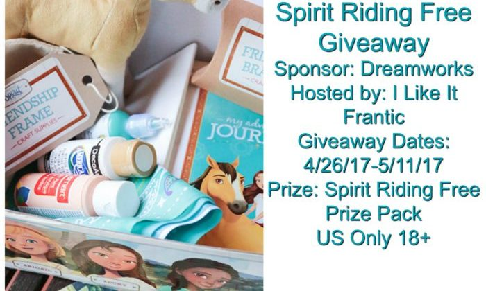 #Win Spirit Riding Free Prize Pack! US only