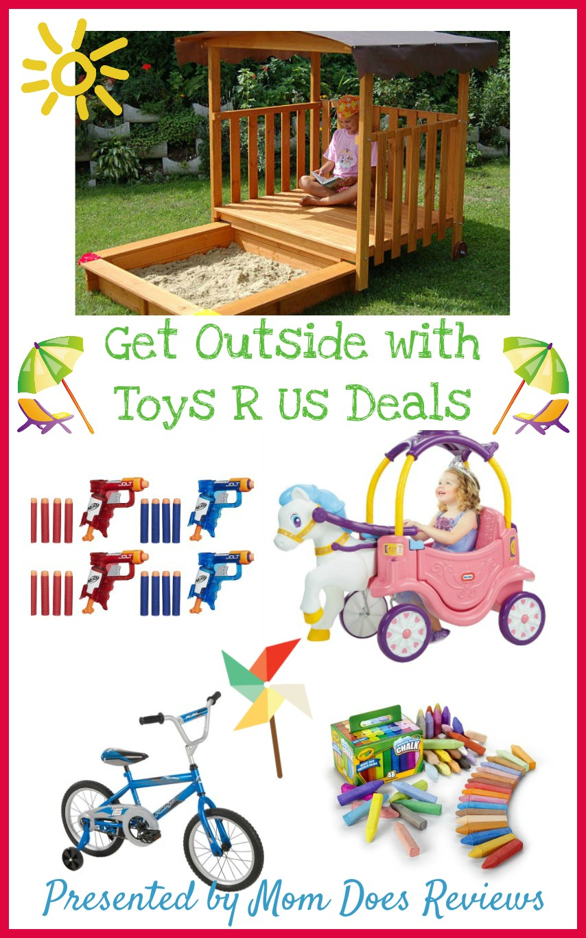 Great toys to get your kids outside from Toys R Us
