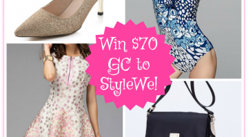 Stylewe Giveaway – Win $70 Gift Code! ends 4/28 #FashionPassion