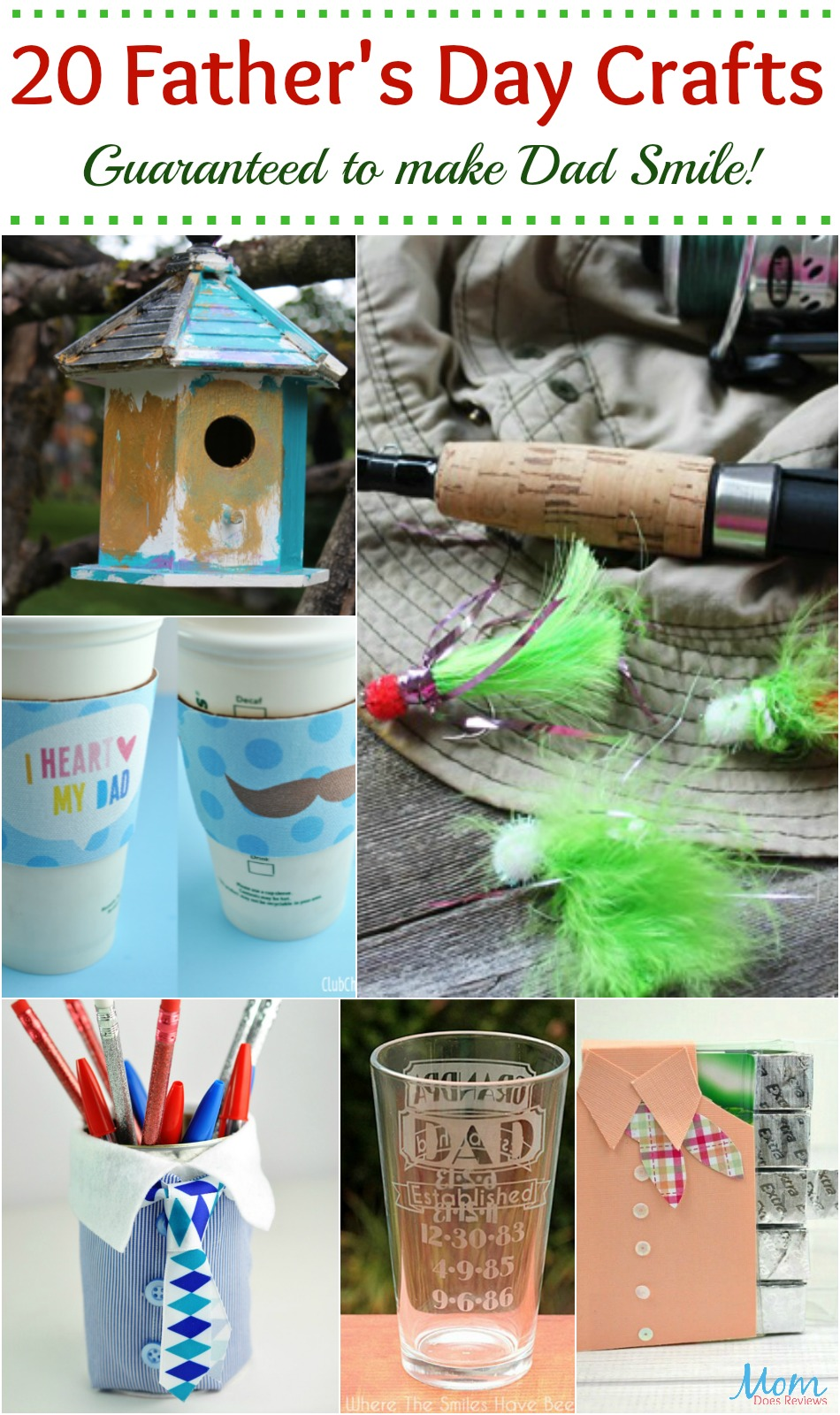 20 Father's Day Crafts Guaranteed to make Dad Smile