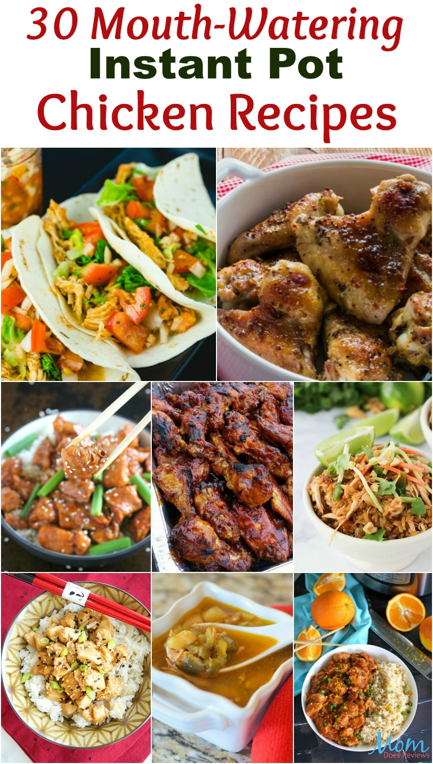 30 Mouth-Watering Instant Pot Chicken Recipes