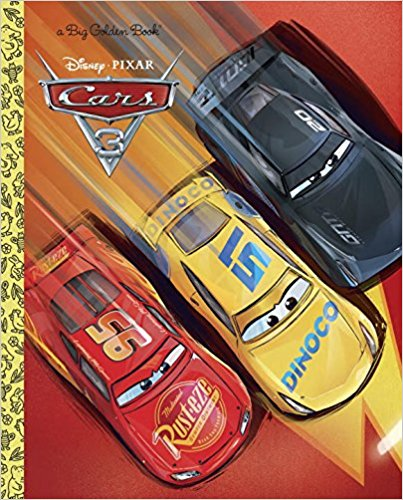Cars 3 Big Golden Book