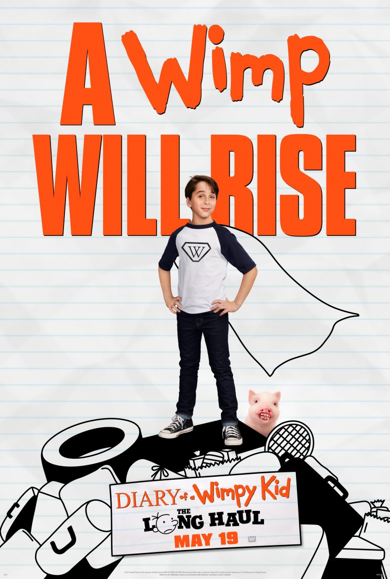 Diary of a Wimpy Kid - the Long Haul Movie Poster!