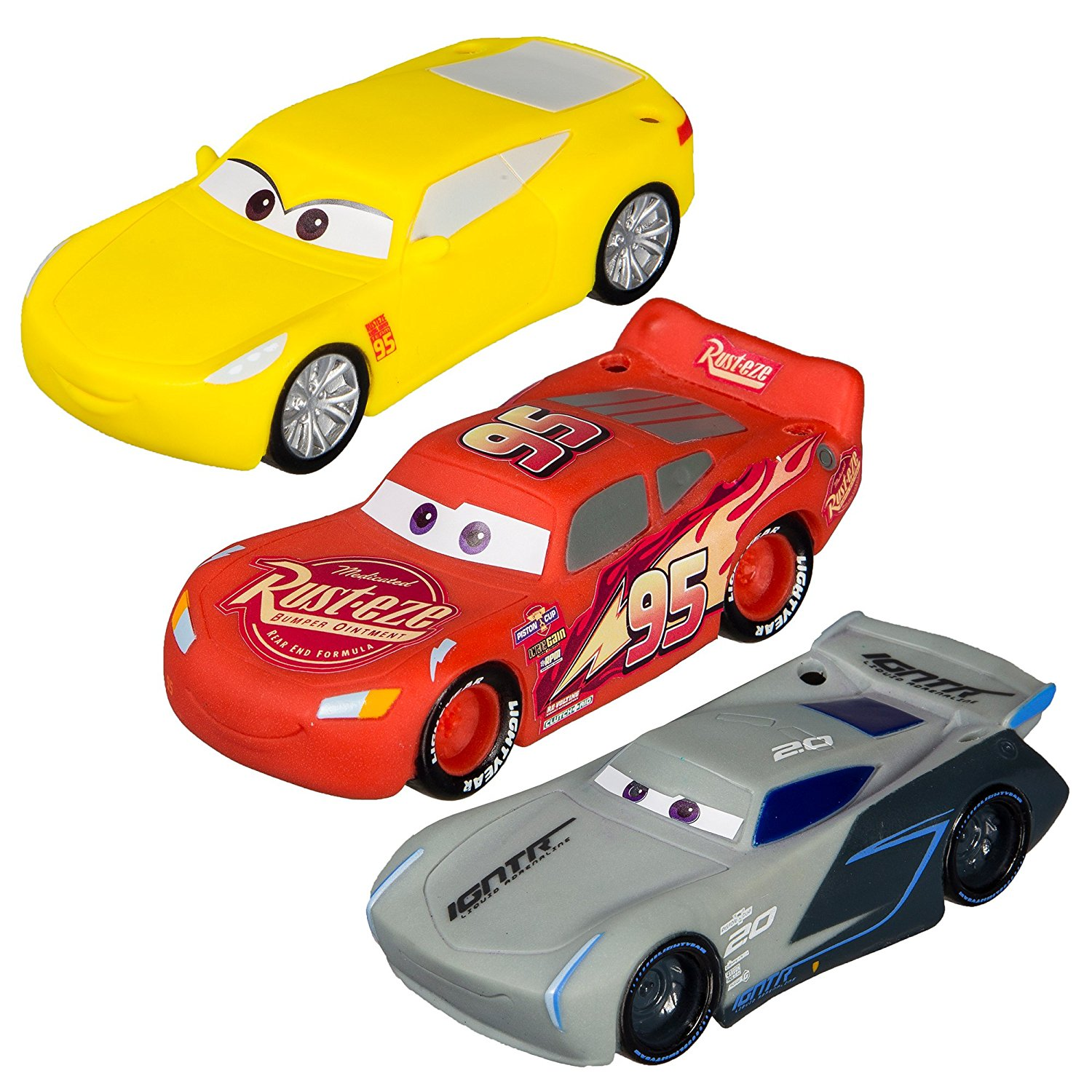 Cars The Movie: New Disney Pixar Cars 3 Movie Toys And Books For Kids