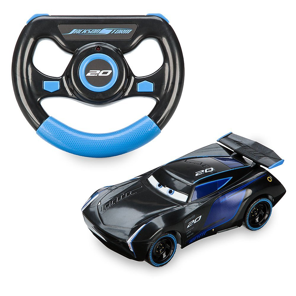 Disney Jackson Storm Remote Control Vehicle