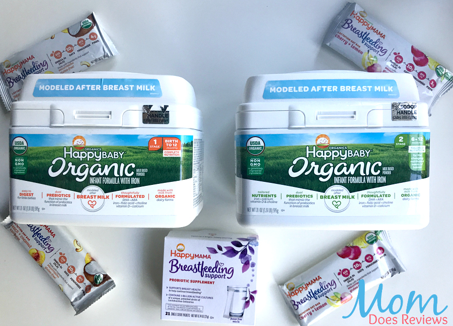 Happy Family Formula and Breastfeeding Support #Review
