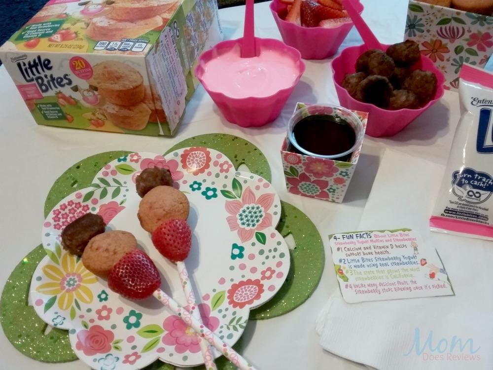 Little Bites® Strawberry Yogurt Muffins for Breakfast
