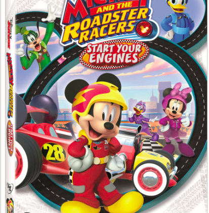 Mickey and the Roadster Racers #Disney DVD 8/15